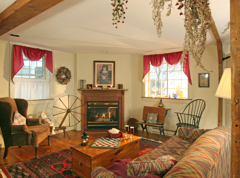 Photo of guest suite at northern VT Inn