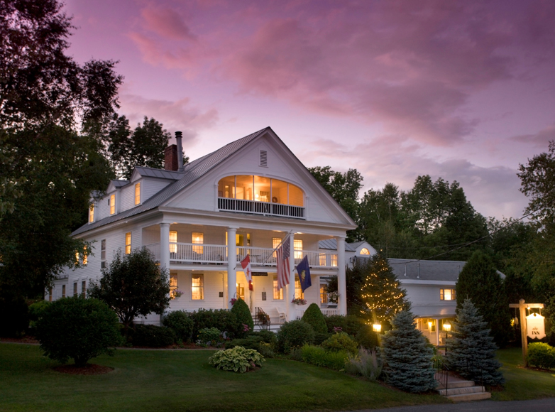 Twilight Photo of Northern VT Inn