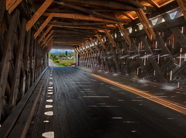 Photo of Vermont Covered Bridge