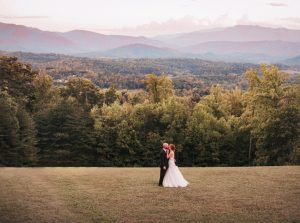 Photo of wedding at Newport, TN inn