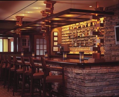 Photo of bar at Historic Hotel Pattee Iowa